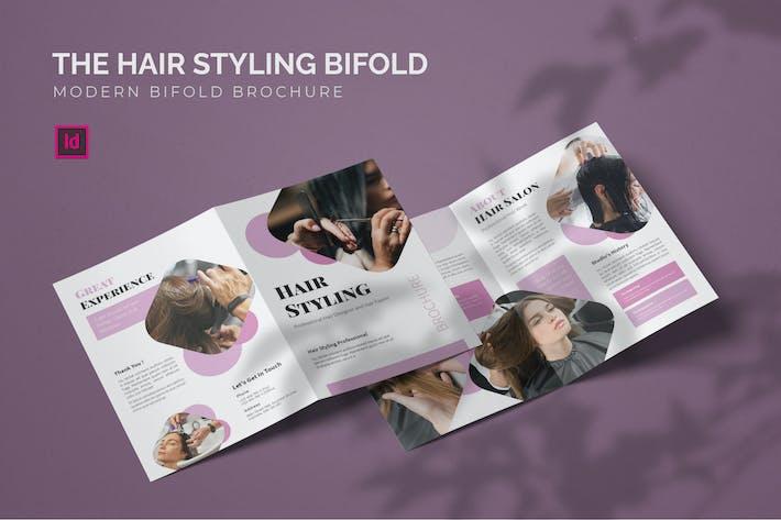 Hairstyling - Bifold Broschüre