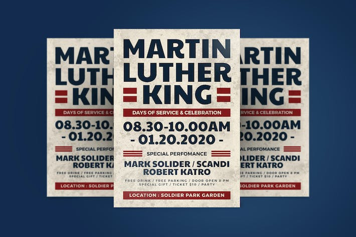 Martin Luther Flyer