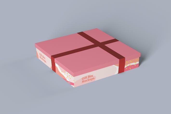 Thumbnail for Gift Box Photoshop Mockup