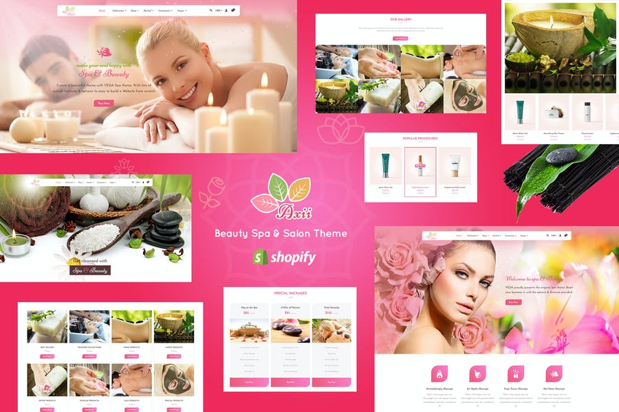 Axii | Beauty Spa Shopify Theme