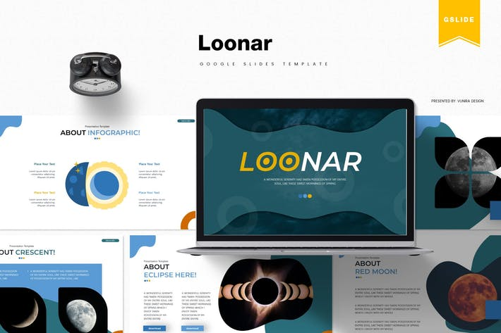 Thumbnail for Loonar | Google Slides Template