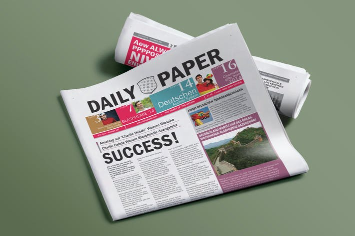 Dailypaper Newspaper Template By Graphixshiv On Envato Elements