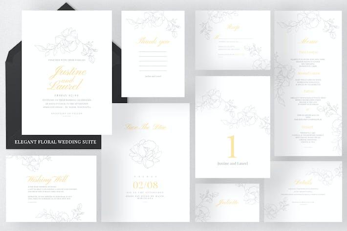 Thumbnail for Elegant Floral Wedding Suite