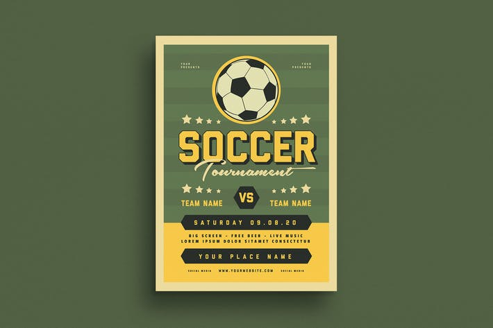 Soccer Tournament Event Flyer