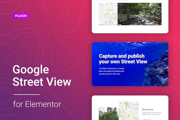 Google Street View for Elementor