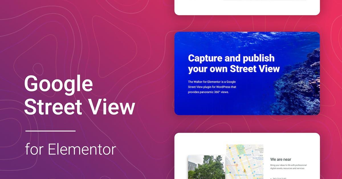 Download Google Street View for Elementor by merkulove