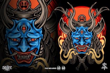Der Teufel Samurai Japan
