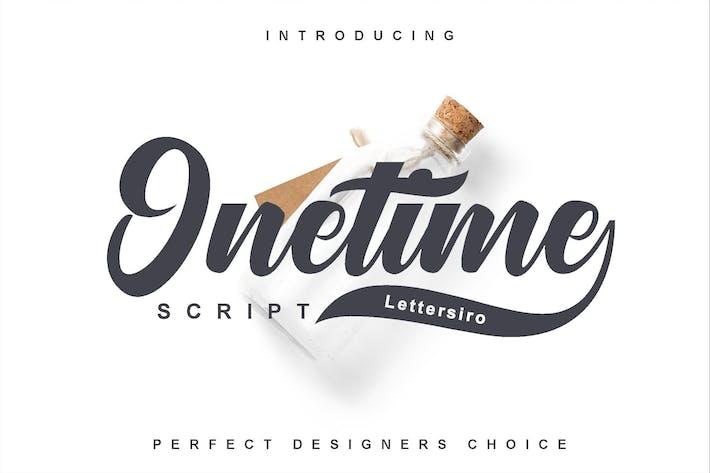 Thumbnail for Onetime Script