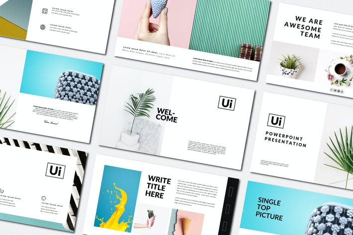 Cover Image For Ui Business Minimal | Powerpoint Templates