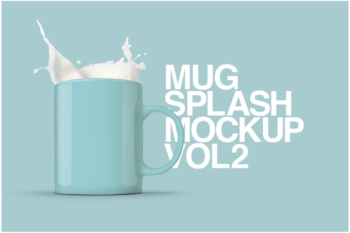 Thumbnail for Mug Splash Mockup Vol.2