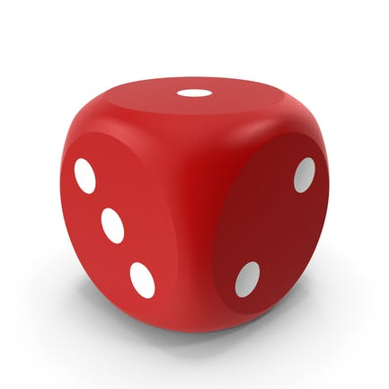 Red Dice Beveled