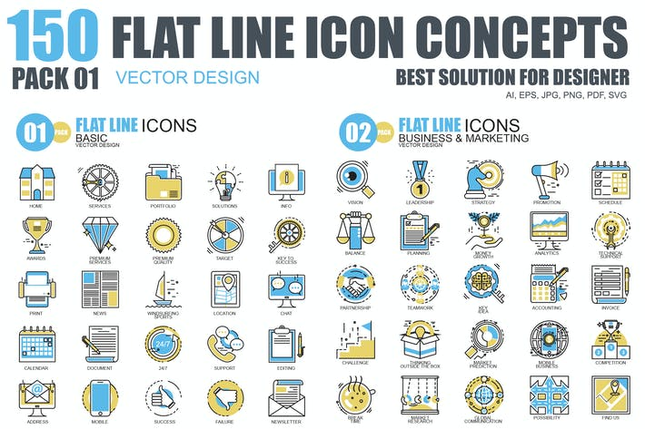 Thumbnail for Line icons