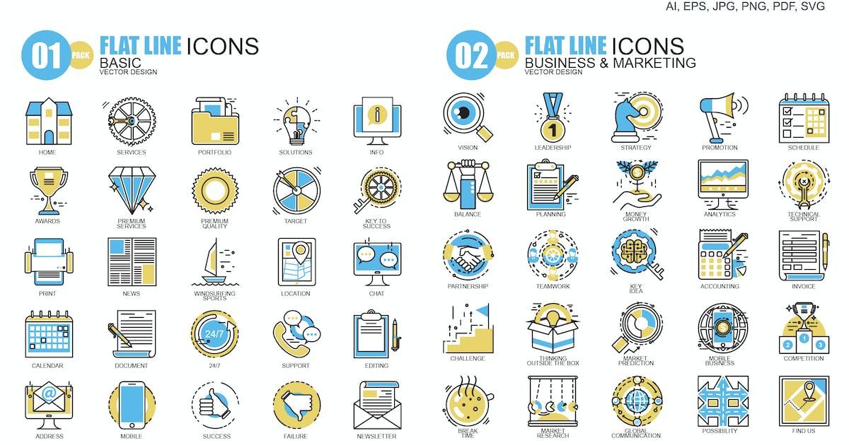 Line icons by alexdndz