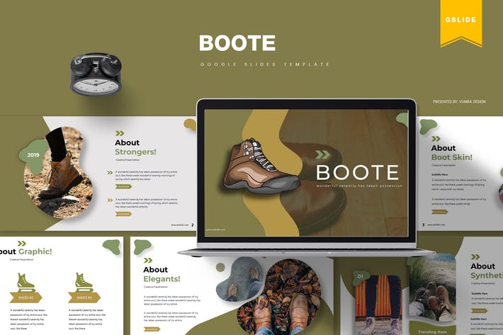 Thumbnail for Boote | Google Slides Template
