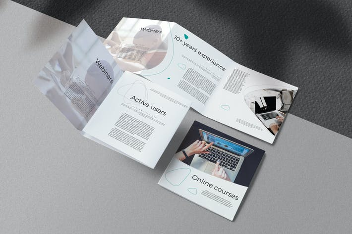 Thumbnail for Online Education Brochure
