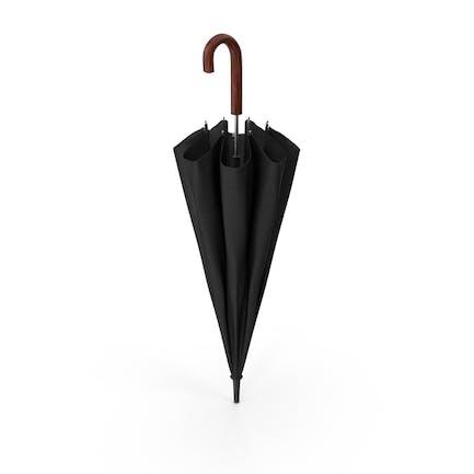 Holzhakengriff Regenschirm