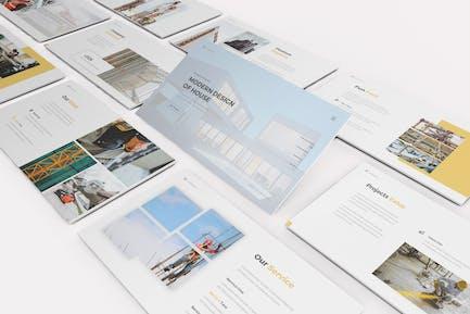 Architecture Google Slides Template