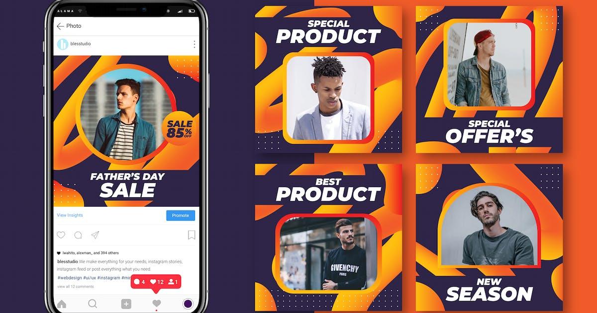 Download Pvrple - Instagram Feed Pack by Blesstudio