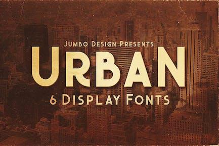 Urban - Police de style d'affichage