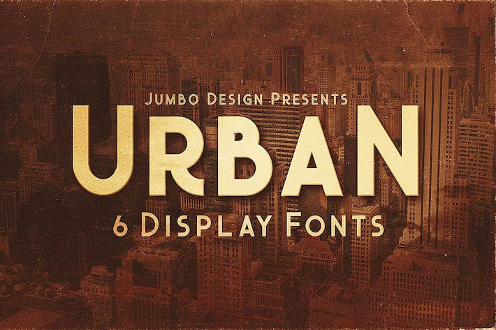 Thumbnail for Urban - Display Style Font