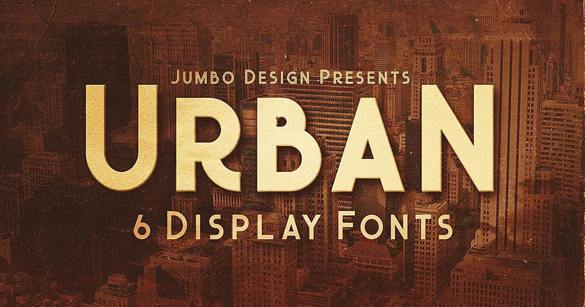 Download Urban - Display Style Font by cruzine