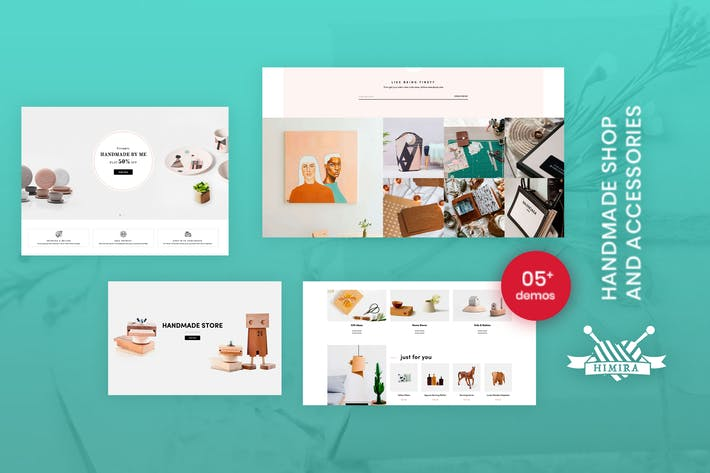 Thumbnail for Himita - Handmade Shop & Accessories Shopify Theme