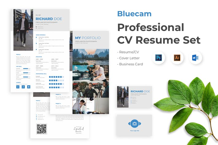 Thumbnail for Business CV Resume