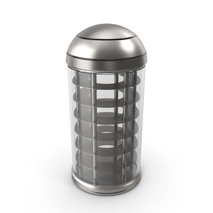 Chemical Cartridge Empty