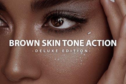 Brown Skin  Action Deluxe Edition   For Desktop