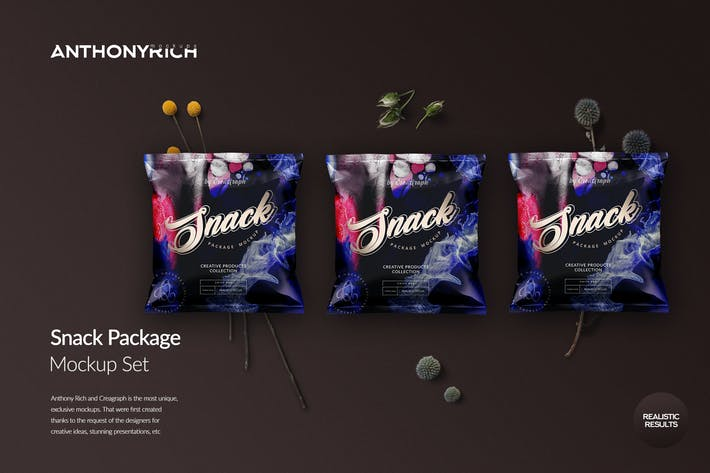 Thumbnail for Snack Package Mockup