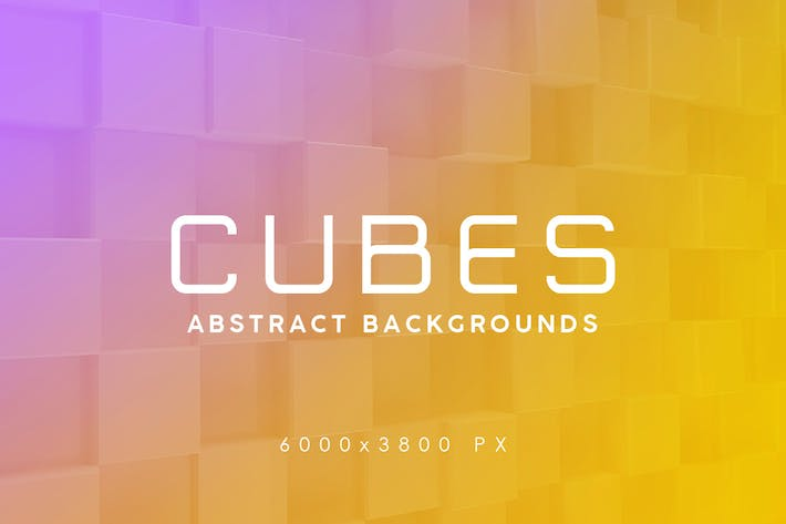 Thumbnail for Cubes Abstract Backgrounds
