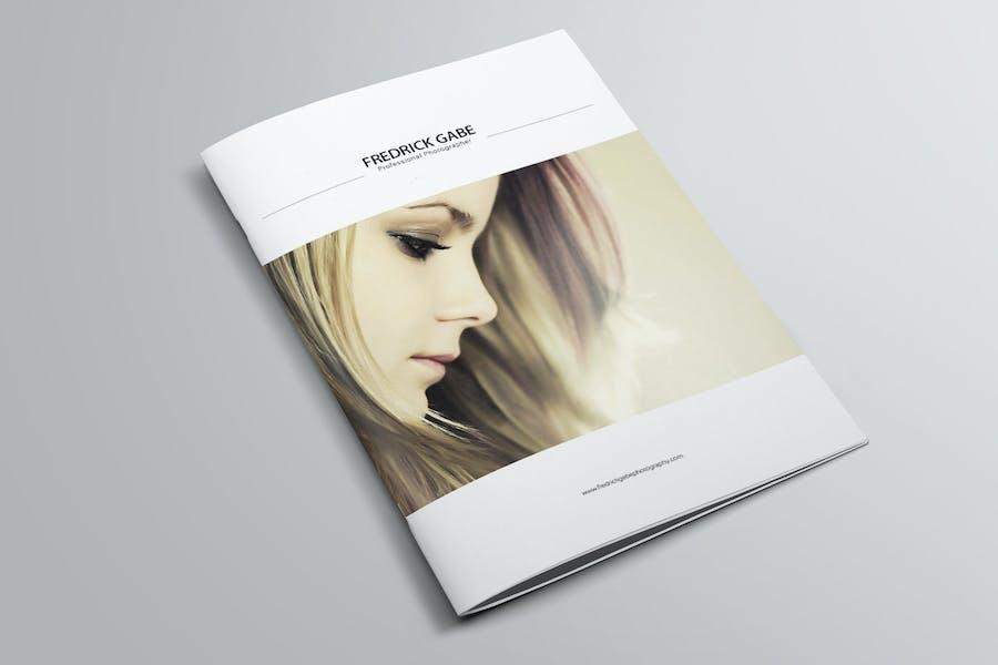 Minimal Photography Portfolio Brochure