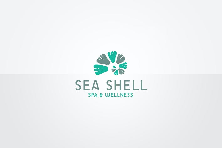 cover image for seashell logo template