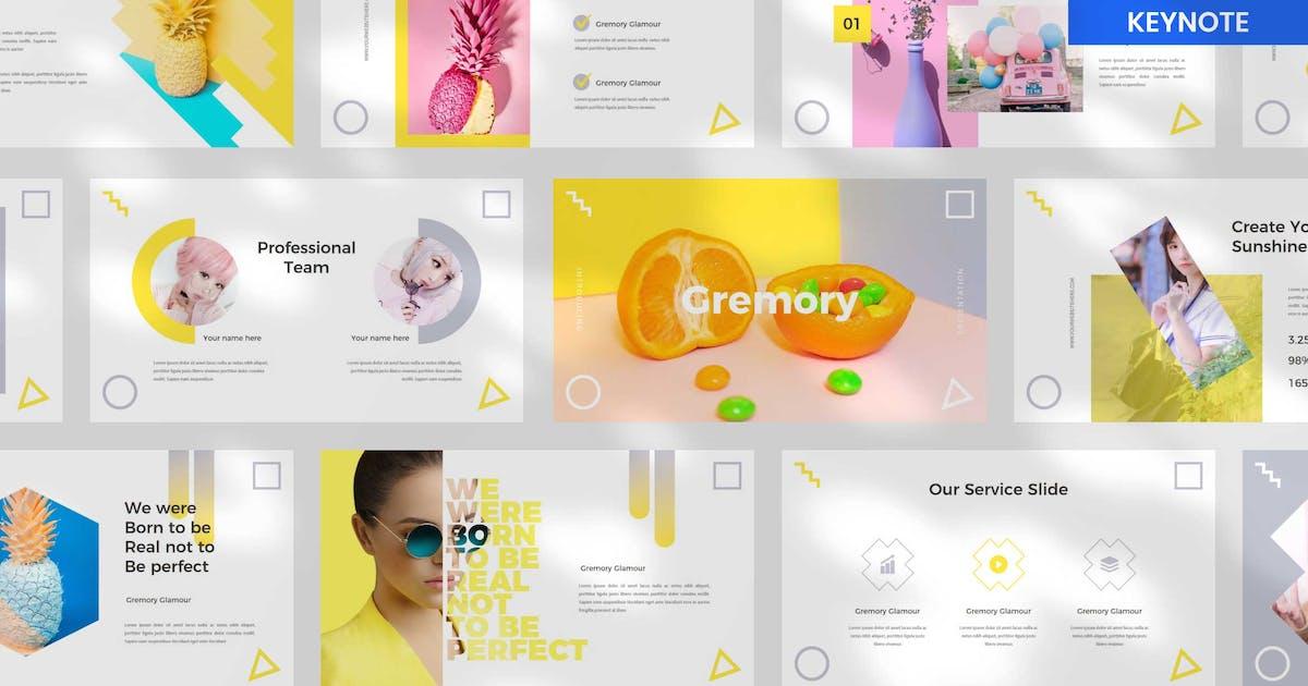 Download Gremory Keynote Presentation Template by BringMeTheDesign