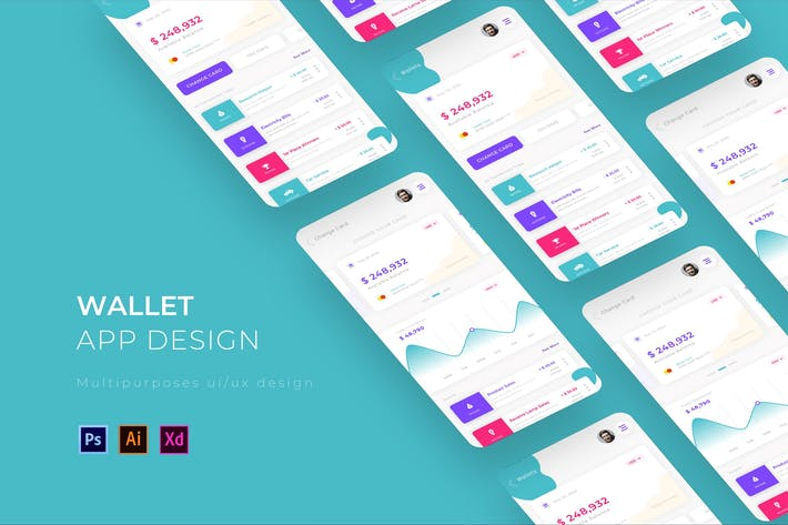 Thumbnail for Wallet App