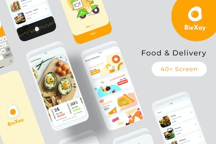 BieXay Food Delivery Mobile App