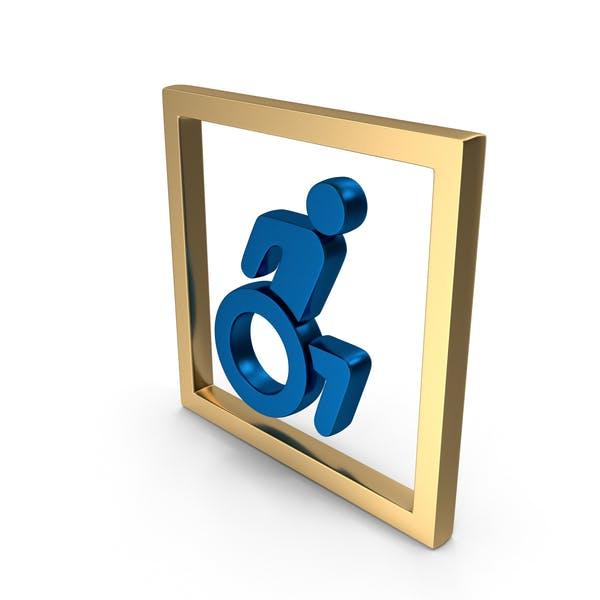 Wheel Chair Symbol Logo Icon