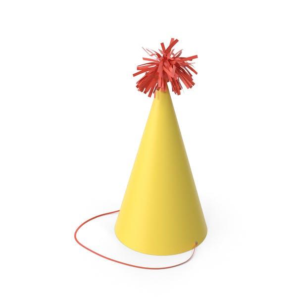 Вечеринка Шляпа Желтая