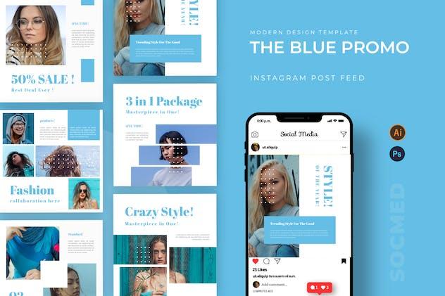 Blue Promo Socmed Post