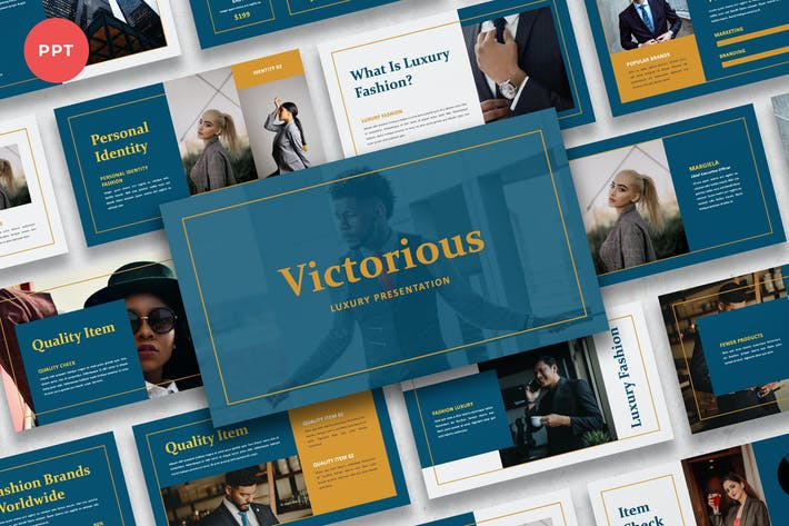 Victorious - Luxury Suit Powerpoint