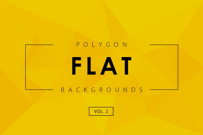 Thumbnail for Flat Polygon Backgrounds Vol.2