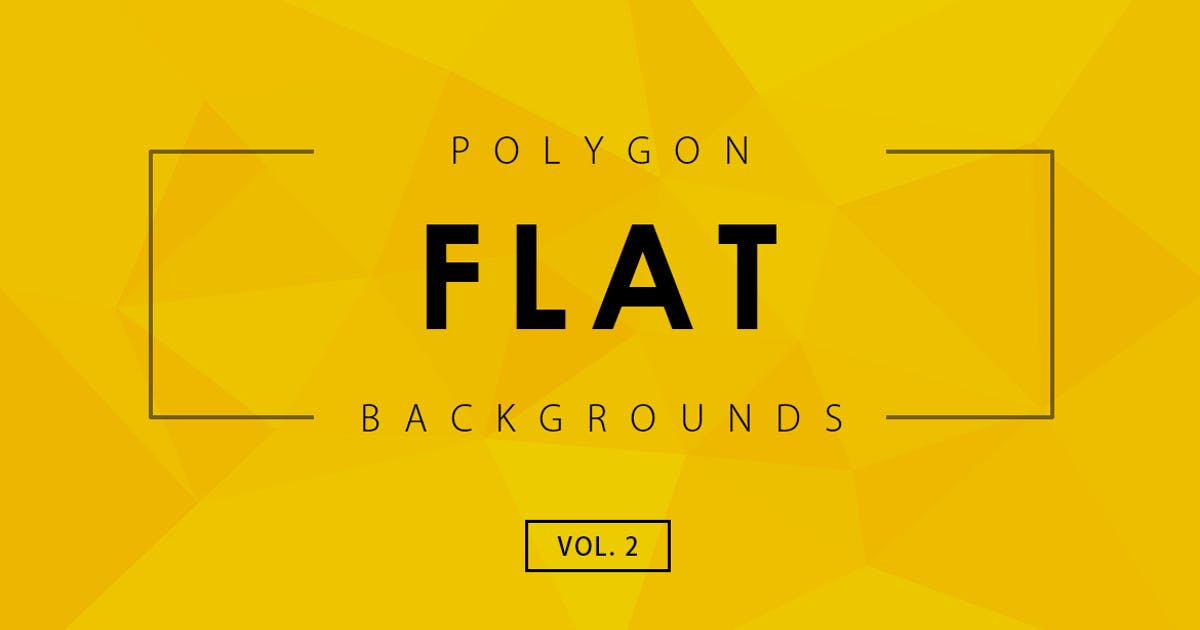 Flat Polygon Backgrounds Vol.2 by M-e-f