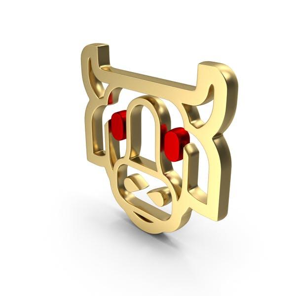 Значок Логотип коровы
