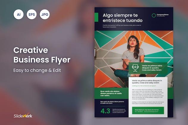 Creative Flyer 35 - Slidewerk