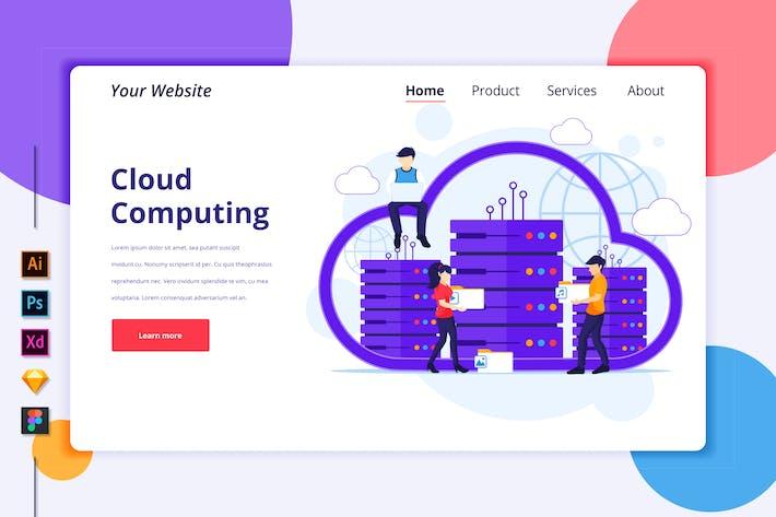 Thumbnail for Agnytemp - Cloud Computing Illustration