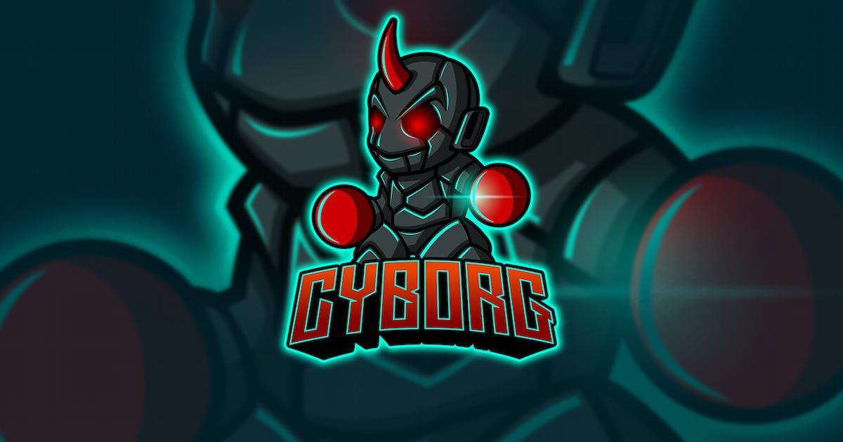 Download Cyborg - Mascot & Esport Logo by aqrstudio