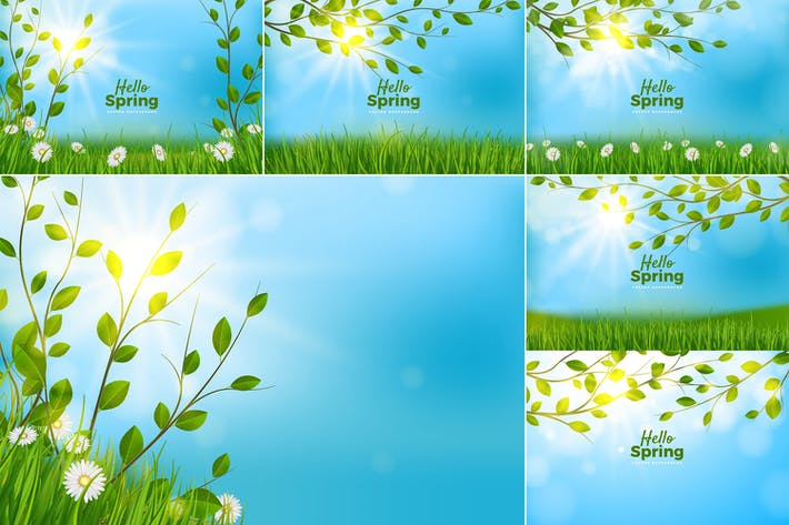 Thumbnail for Spring Background Collection