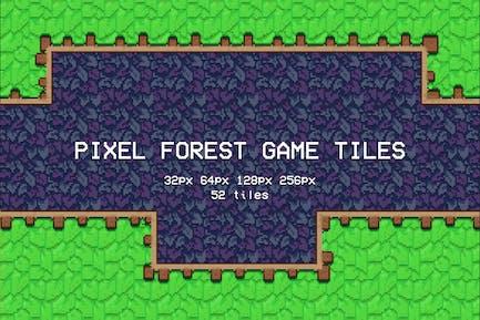 Pixel Forest Spielfliesen