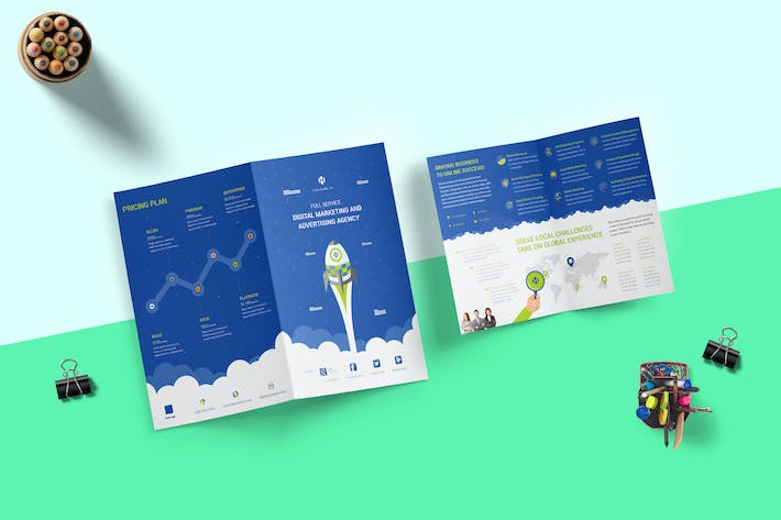 digital marketing brochure by giantdesign on envato elements