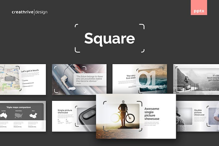 Thumbnail for Square PowerPoint